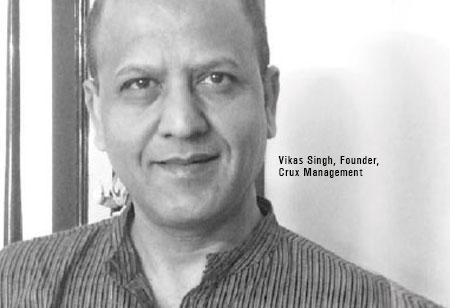 Dr.Vikas Singh,Founder,Crux-Management