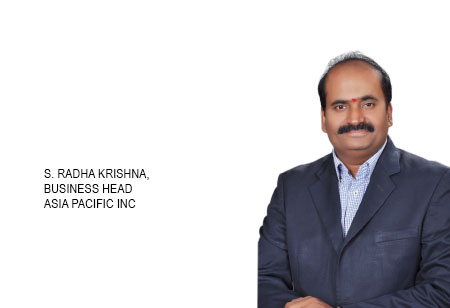 S. Radha Krishna,Business Head,Asia-Pacific-Inc