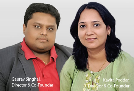 Gaurav  and Kavitha ,Founders,Patracode-Services