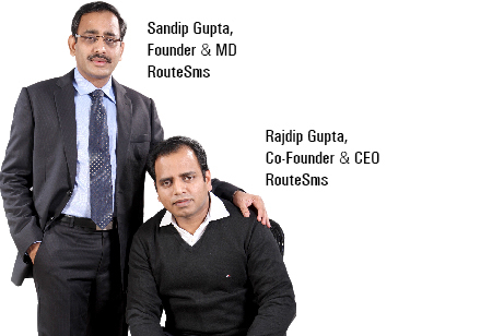 Sandip Gupta,Founder & MD,RouteSms