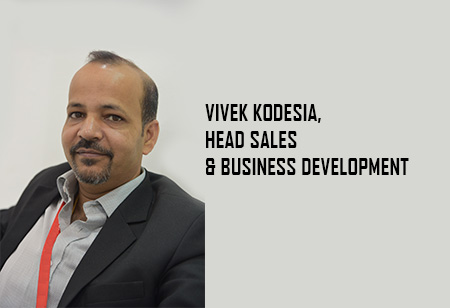 Vivek Kodesia, Head Sales ,Rays-Power-Infra