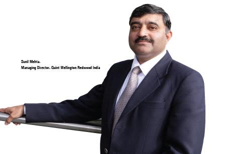 Sunil Mehta,Managing Director,Quint-Wellington-Redwood-India