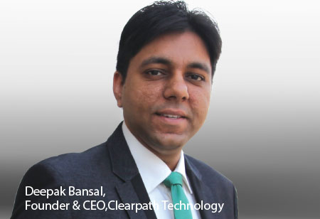 Deepak Bansal,Founder & CEO,Clearpath-Technology