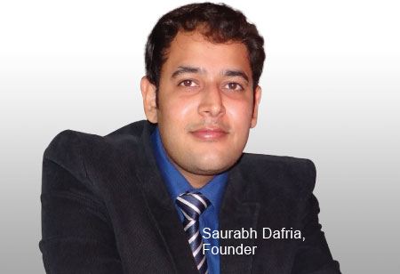 Saurabh Dafria,Founder ,Phinnacle
