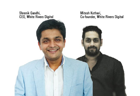 Shrenik Gandhi, Mitesh Kothari,Co-Founder, Chief Executive Officer,White-Rivers-Digital