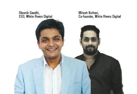 Shrenik Gandhi, Mitesh Kothari,Co-Founder, Chief Executive Officer,White-Rivers-Digital