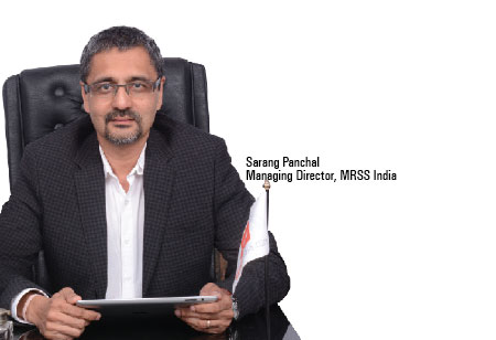 Sarang Panchal,Managing Director,MRSS-India