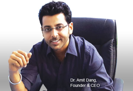 Dr. Amit Dang,Founder and CEO,MarksMan-Healthcare-Solutions