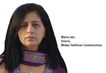 Mamta Jain,Director,Medwiz-Healthcare-Communications