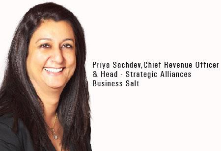 Priya Sachdev,Chief Revenue Officer & Head - Strategic Alliances,Business-Salt