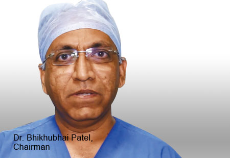 Dr. Bhikhubhai Patel,Chairman,Sun-Shine-Global-Hospital