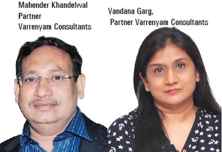 Mahender Khandelwal & Vandana Garg ,Partners,Varrenyam-Consultants