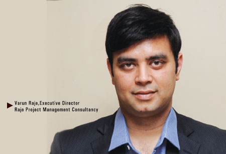 Varun Raje,  Executive Director,Raje-Project-Management-Consultancy
