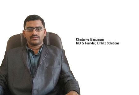 Chaitanya Nandigam,MD & Founder,Emblix-Solutions