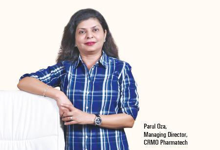 Parul Oza,   Managing Director,CRMO-Pharmatech
