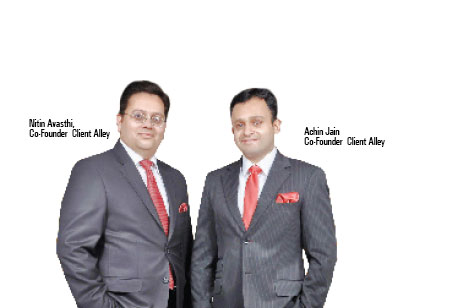 Nitin Avasthi and Achin Jain ,Founder Partners,Client-Alley-Private-Wealth-Management
