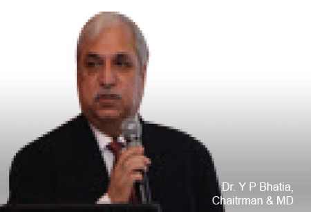 Dr. Y P Bhatia,Chairman & Managing Director,Astron-Hospital-Health-Care-Consultants