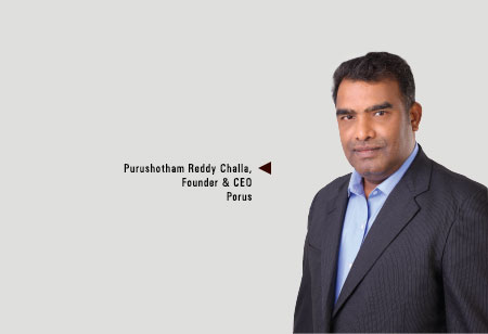 Purushotham Reddy Challa ,Founder & CEO,Porus-Software-Consultants