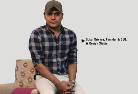 Gokul Krishna,  Founder & Ceo,W-Design-Studio