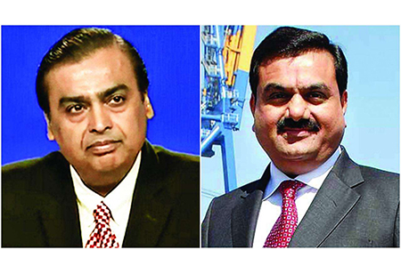 India's Top Five Business Magnates have Together Lost $15 billion So Far This Year