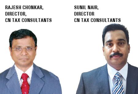 Rajesh Chonkar, Sunil Nair,Directors,CN-Tax-Consultants