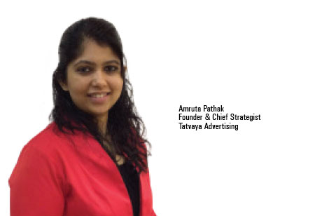 Amruta Pathak,Founder & Chief StrategistTatvaya,Tatvaya