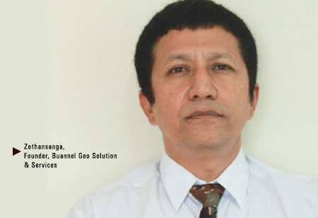 Zothansanga,  Founder,Buannel-Geo-Solution-Services