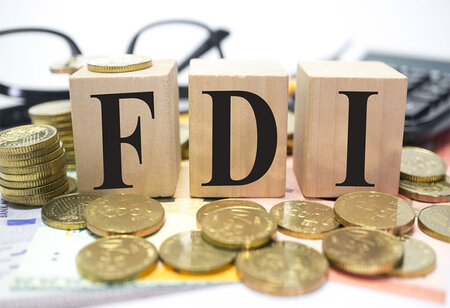 Government data shows that FDI rises 40 per cent to $51.47 billion in April-December 2020-21