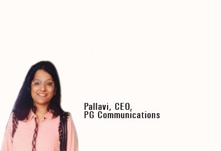 Pallavi Goorha ,Founder & CEO,PG-Communications