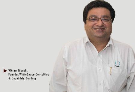 Vikram Munshi,Founder,WhiteSpace-Consulting-Capability-Building