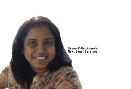 Beena Pillai,Founder,Next-Legal