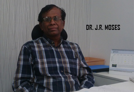 Dr. J R Moses ,CEO,Hubert-Enviro-Care-Systems