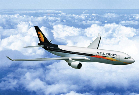 TPG Capital and rival Blackstone Group are competing for a large stake in Jet Airways