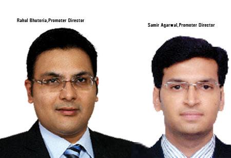 Samir Agarwal, Rahul Bhutoria,Promoter Directors,Indcap-Advisors