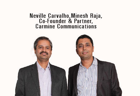 Minesh Raja & Neville Carvalho,Co-Founders,Carmine