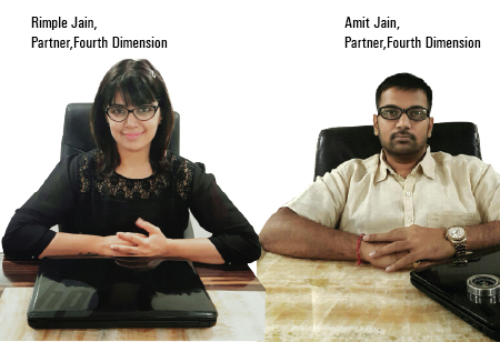 Amit Jain and Rimple Jain,, Partners,Fourth-Dimension