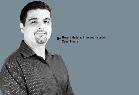 Brijesh Butala,  Principal Founder,Seed-Studio