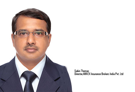 Subin Thomas ,Director,AMEX-Insurance-Brokers-India