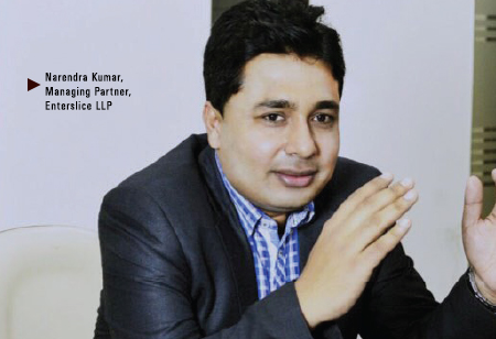 Narendra Kumar,  Managing Partner,Enterslice-LLP