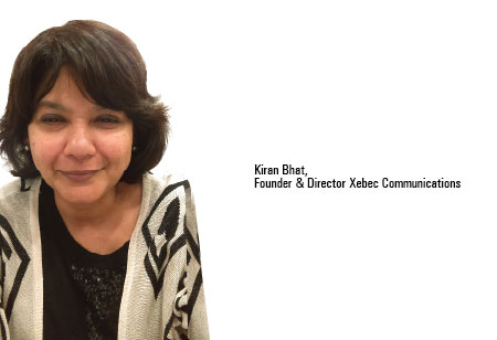 Kiran Bhat,Founder / Director & Principal consultant  ,Xebec-Communications