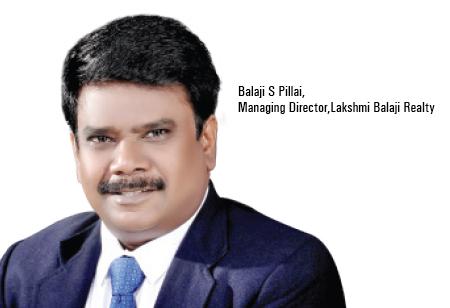 Balaji S Pillai ,Managing Director,Lakshmi-Balaji-Realty