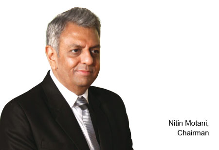 Nitin Motani,Chairman,SK-Robotics