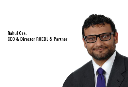 Rahul Oza,CEO& Director,ROEDL-Partner