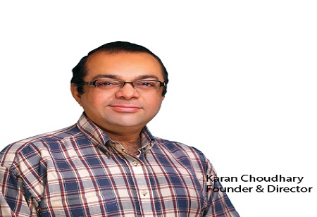 Karan Chowdhary ,Founder & director,Dio-Consulting