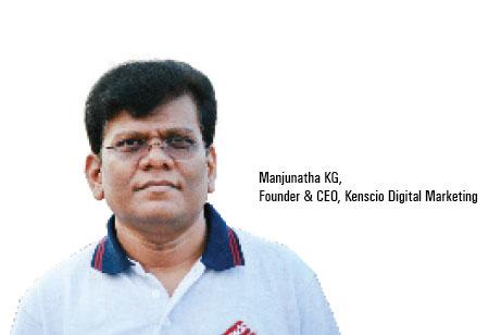 Manjunatha KG,Founder & CEO,Kenscio-Digital-Marketing
