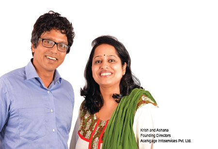 Krish and Ashana,Founder Directors,AceNgage-Infoservices-Pvt-Ltd