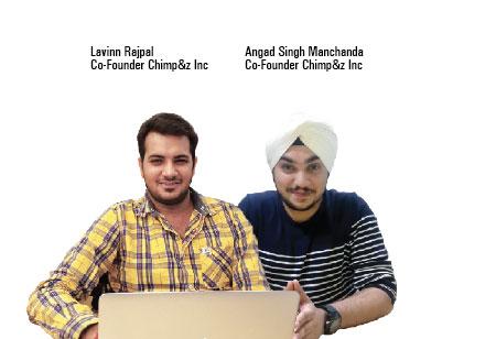 Angad Singh Manchanda,Co-Founder,Chimpz