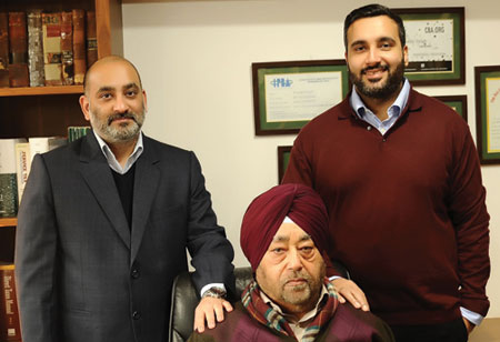 Rajan Pratap Singh, Karan Pratap Singh,  Kuldip Singh ,Chairman & CEO, Director, In-House Lawyer & Founder,Sunrise-International