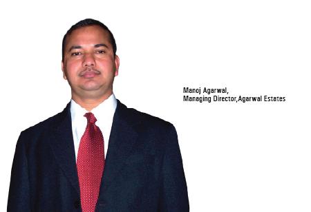 Manoj Agarwal,Managing Director,Agarwal-Estates