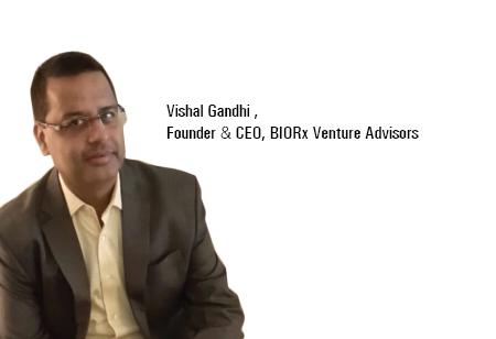 Vishal Gandhi,Founder & CEO,BIORx-Venture-Advisors